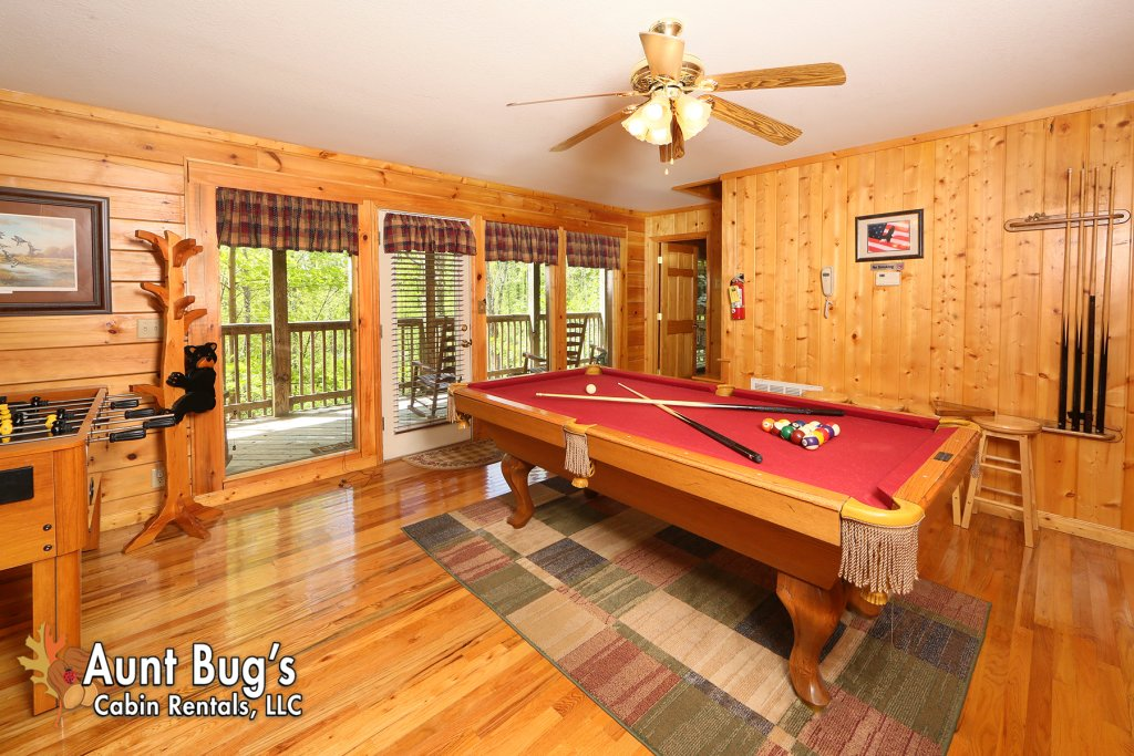 Photo of a Pigeon Forge Cabin named Smoky Mountain Getaway #435 - This is the twenty-second photo in the set.