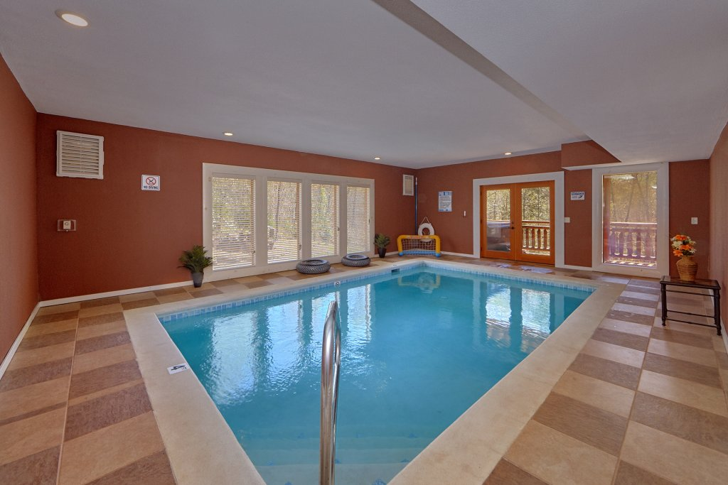 Photo of a Gatlinburg Cabin named Sweet Tranquility Pool Lodge - This is the first photo in the set.
