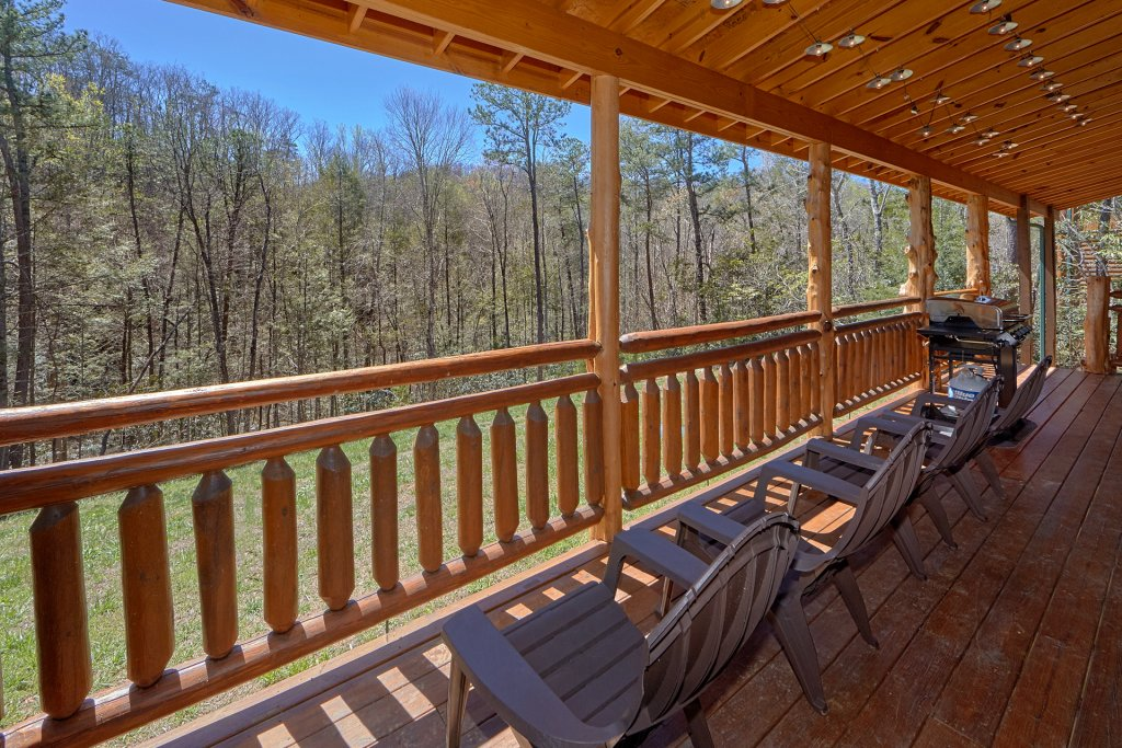 Photo of a Gatlinburg Cabin named Sweet Tranquility Pool Lodge - This is the third photo in the set.
