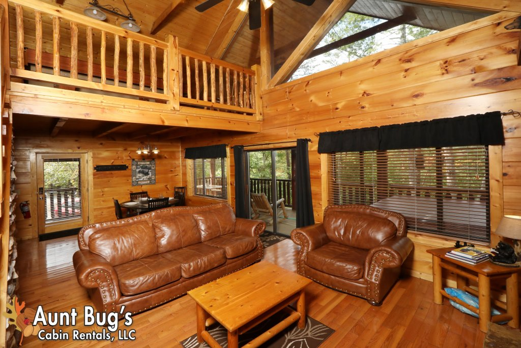Photo of a Pigeon Forge Cabin named Black Bear Hibernation #2825 - This is the sixteenth photo in the set.