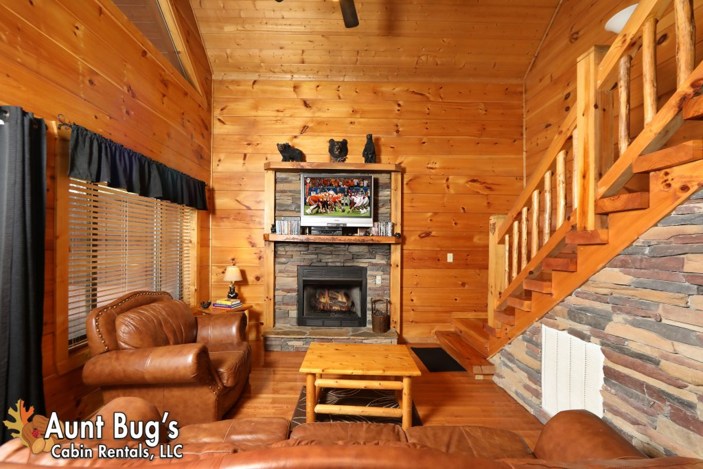 Photo of a Pigeon Forge Cabin named Black Bear Hibernation #2825 - This is the twelfth photo in the set.