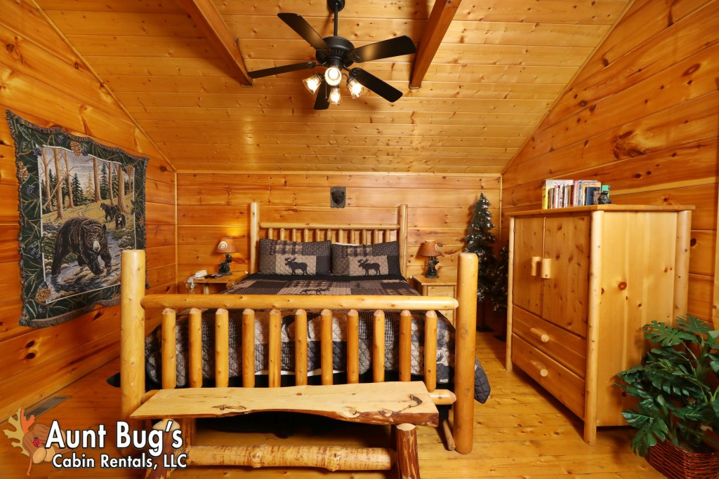 Photo of a Pigeon Forge Cabin named Black Bear Hibernation #2825 - This is the twenty-fourth photo in the set.