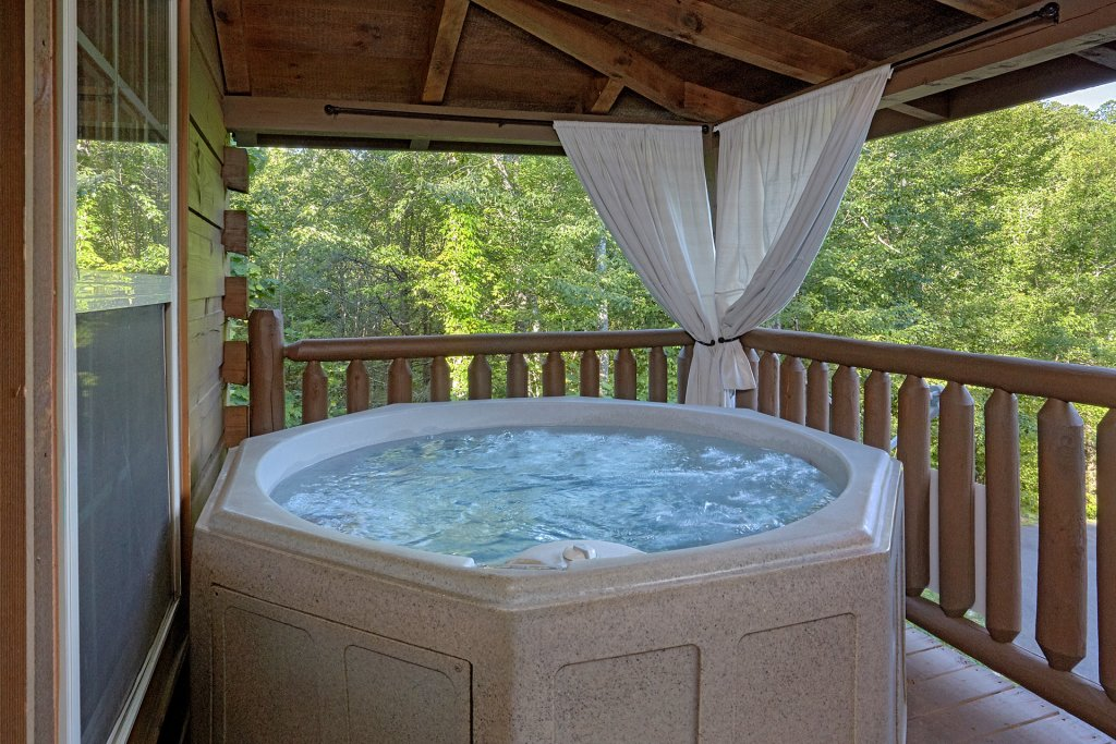 Photo of a Gatlinburg Cabin named Pool Time Paradise - This is the second photo in the set.