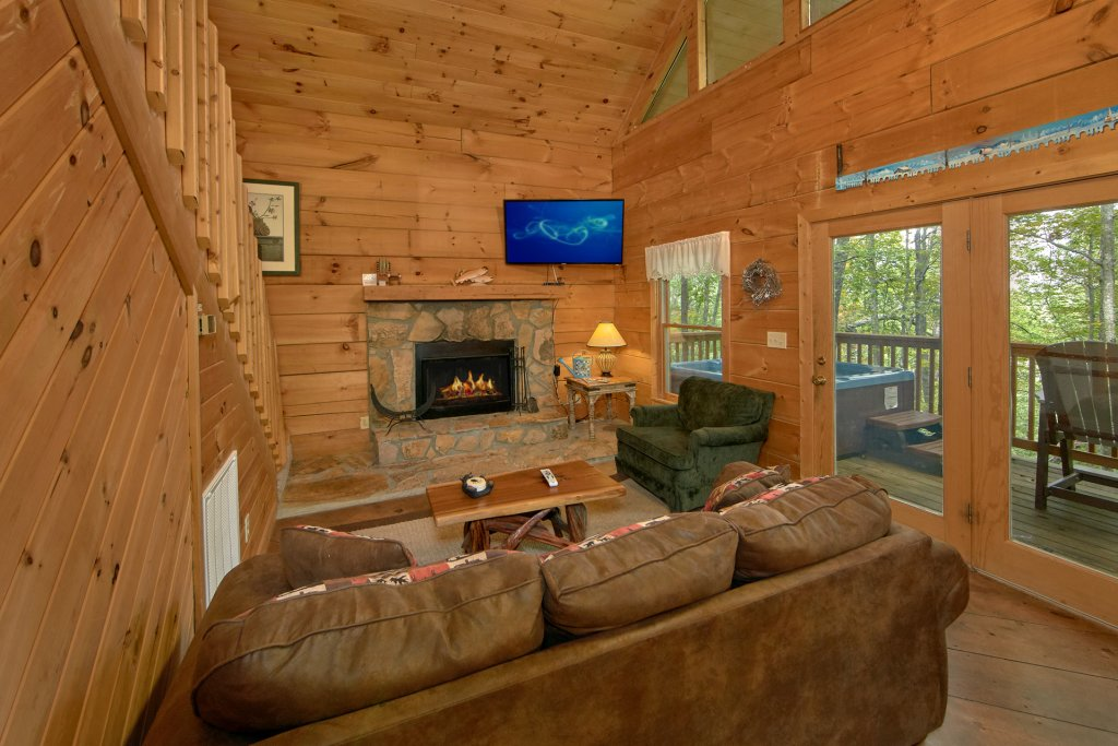 Photo of a Pigeon Forge Cabin named All Tucked Away #114 - This is the nineteenth photo in the set.