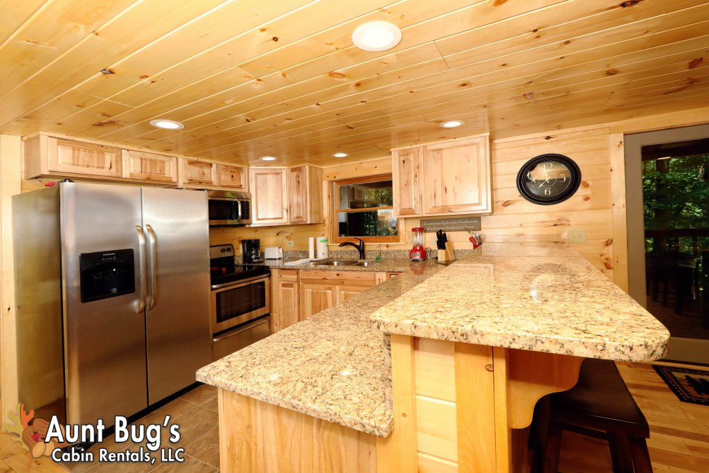 Photo of a Sevierville Cabin named A Secluded Retreat #216 - This is the second photo in the set.