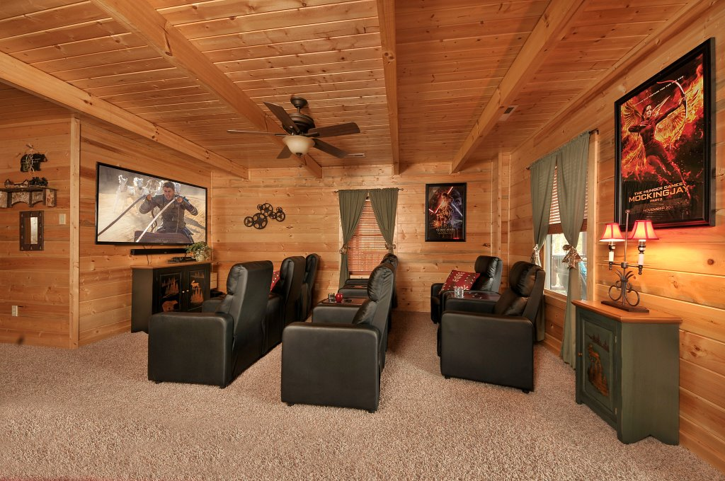 Photo of a Sevierville Cabin named Majestic Sunset Lodge - This is the second photo in the set.