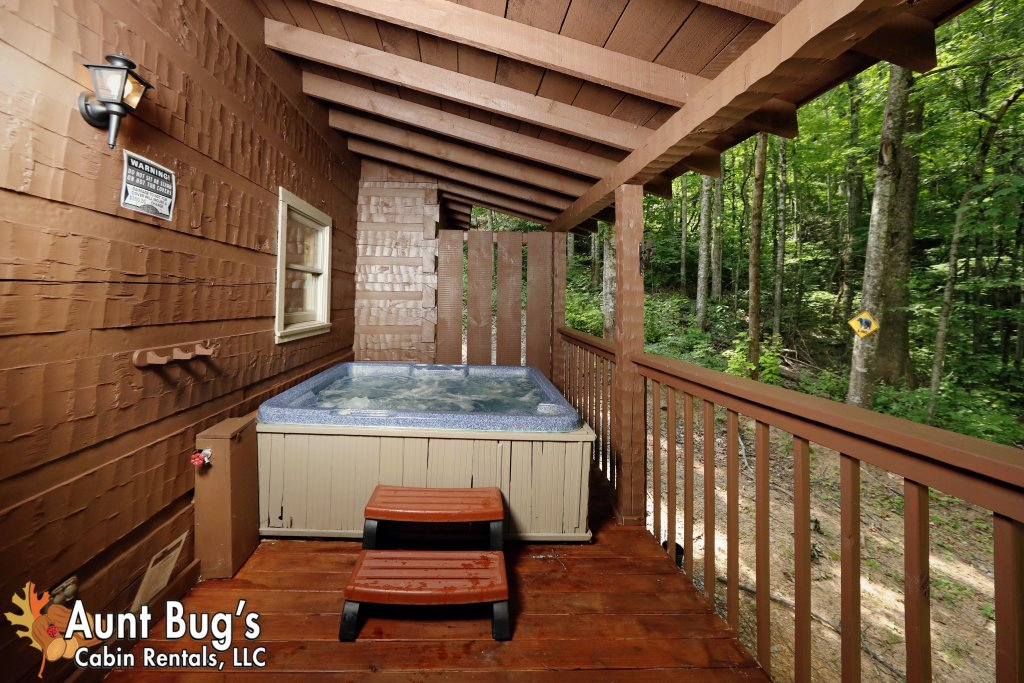 Photo of a Sevierville Cabin named A Secluded Retreat #216 - This is the twenty-fifth photo in the set.