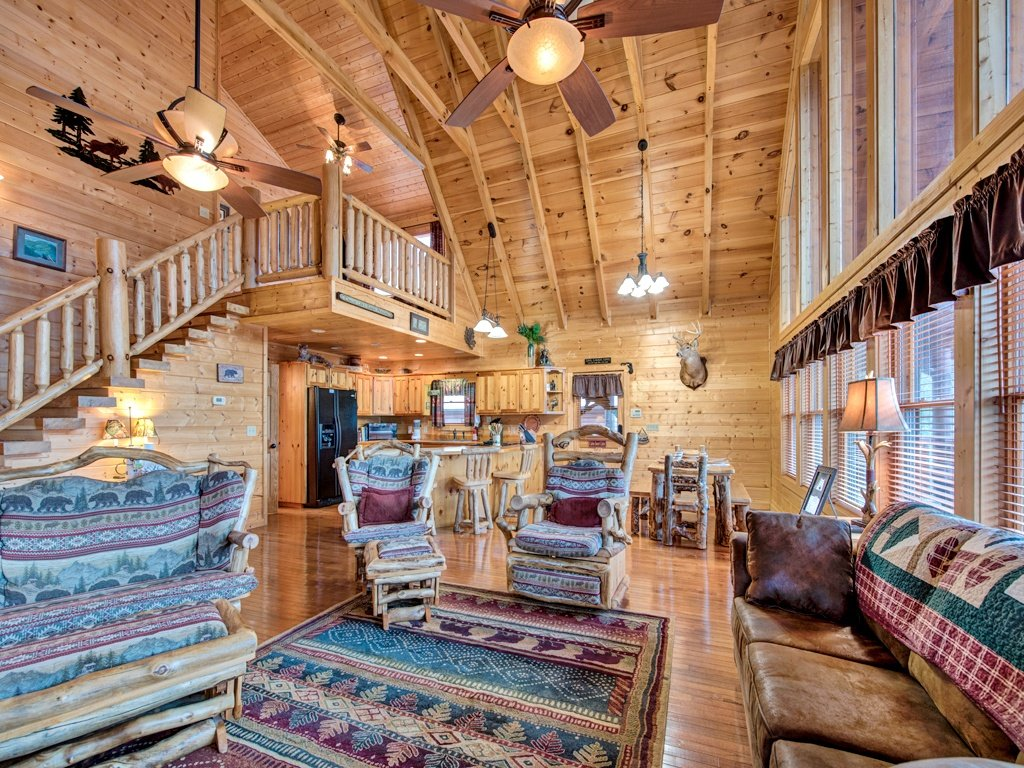 Photo of a Sevierville Cabin named Majestic Sunset Lodge - This is the eighth photo in the set.