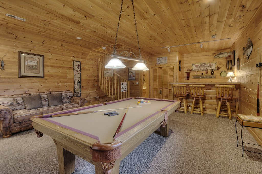 Photo of a Sevierville Cabin named A Fishing Hole #156 - This is the eighteenth photo in the set.