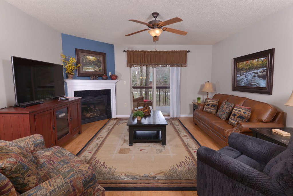 Photo of a Pigeon Forge Condo named Cedar Lodge 105 - This is the first photo in the set.