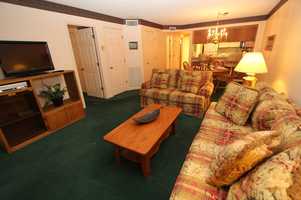 Photo of a Gatlinburg Condo named Level One, Great River View - 107 - This is the second photo in the set.