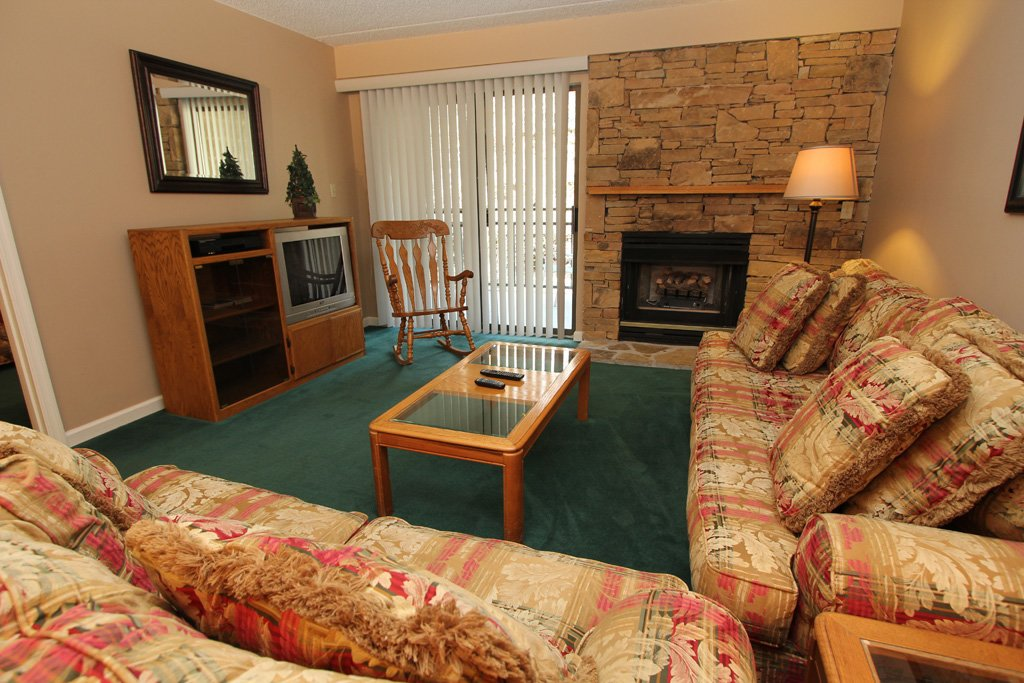Photo of a Gatlinburg Condo named Level One, Great River View - 102 - This is the first photo in the set.