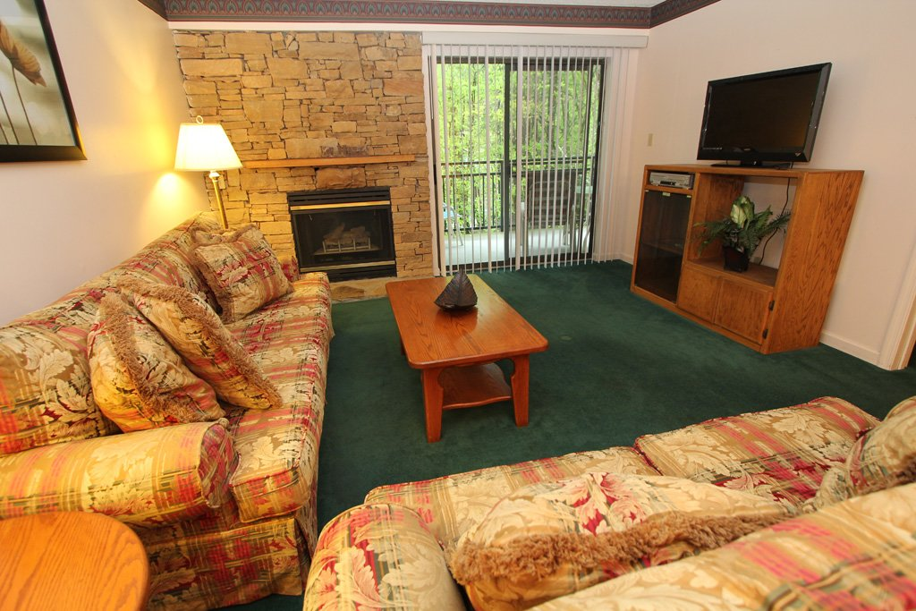 Photo of a Gatlinburg Condo named Level One, Great River View - 107 - This is the first photo in the set.