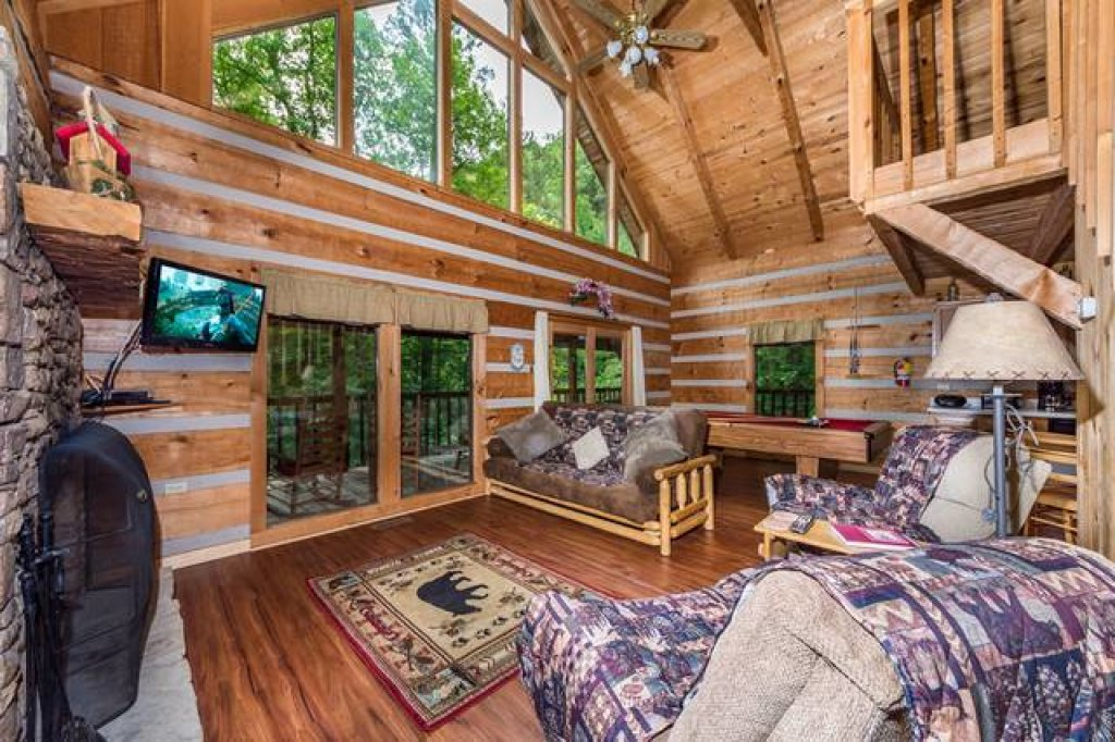 Photo of a Pigeon Forge Cabin named Simply Serene - 201 - This is the seventh photo in the set.