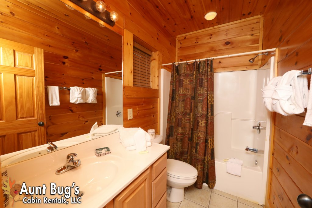 Photo of a Pigeon Forge Cabin named Dream Come True #555 - This is the ninth photo in the set.