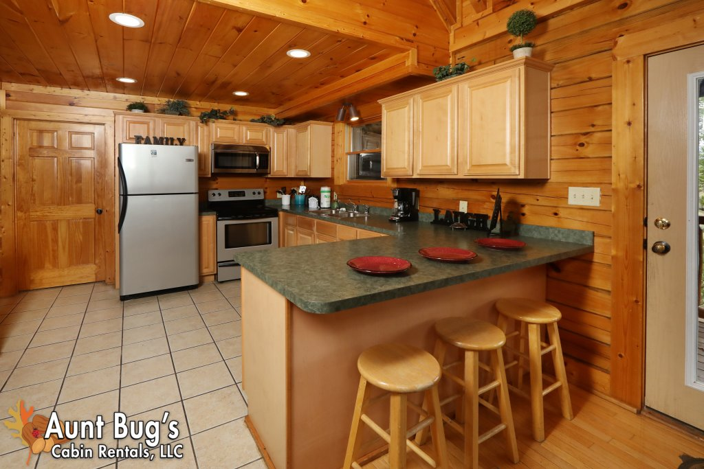 Photo of a Pigeon Forge Cabin named Dream Come True #555 - This is the tenth photo in the set.