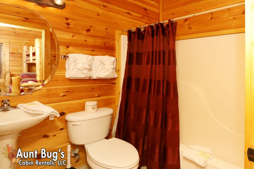 Photo of a Pigeon Forge Cabin named Dream Come True #555 - This is the thirtieth photo in the set.