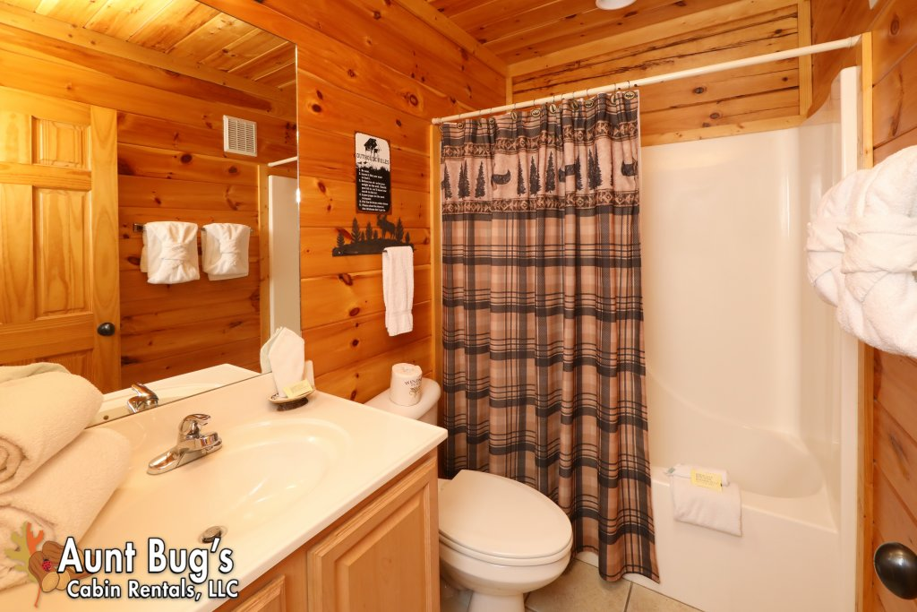 Photo of a Pigeon Forge Cabin named Dream Come True #555 - This is the thirty-second photo in the set.
