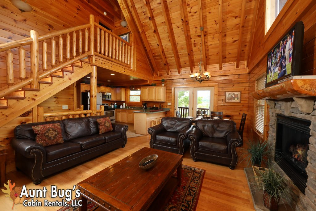Photo of a Pigeon Forge Cabin named Dream Come True #555 - This is the twenty-second photo in the set.