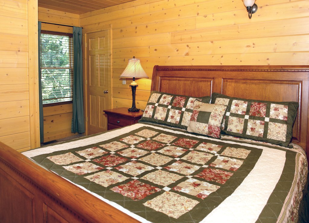 Photo of a Pigeon Forge Cabin named Skinny Dippin' #261 - This is the twenty-first photo in the set.