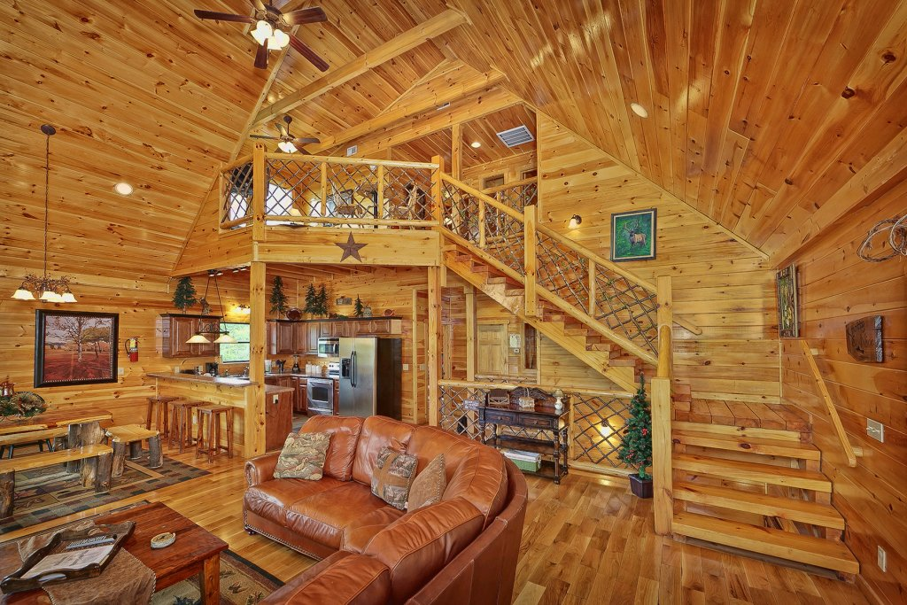 Photo of a Gatlinburg Cabin named Knotty & Nice - This is the eleventh photo in the set.