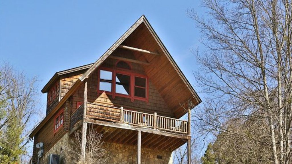 Photo of a Pigeon Forge Cabin named A Moonlight Ridge #162 - This is the first photo in the set.