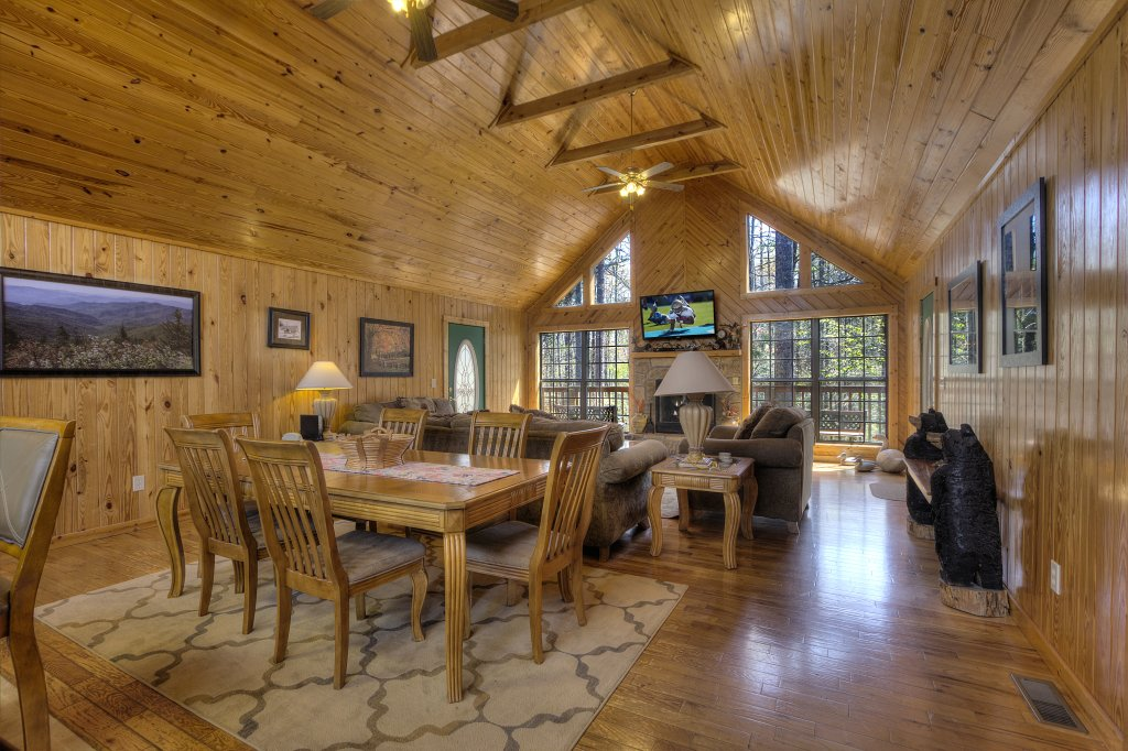 Photo of a Sevierville Cabin named Always Delightful #411 - This is the second photo in the set.