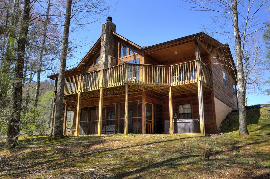 Photo of a Sevierville Cabin named Always Delightful #411 - This is the fifty-second photo in the set.