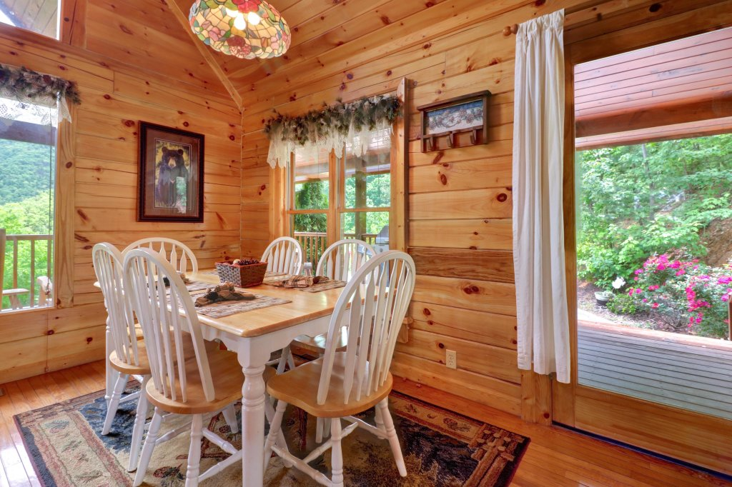 Photo of a Sevierville Cabin named Altitude Adjustment - This is the fourth photo in the set.