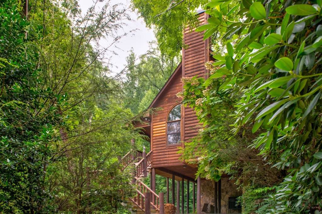 Photo of a Sevierville Cabin named Foxfire Cove Cabin - This is the first photo in the set.
