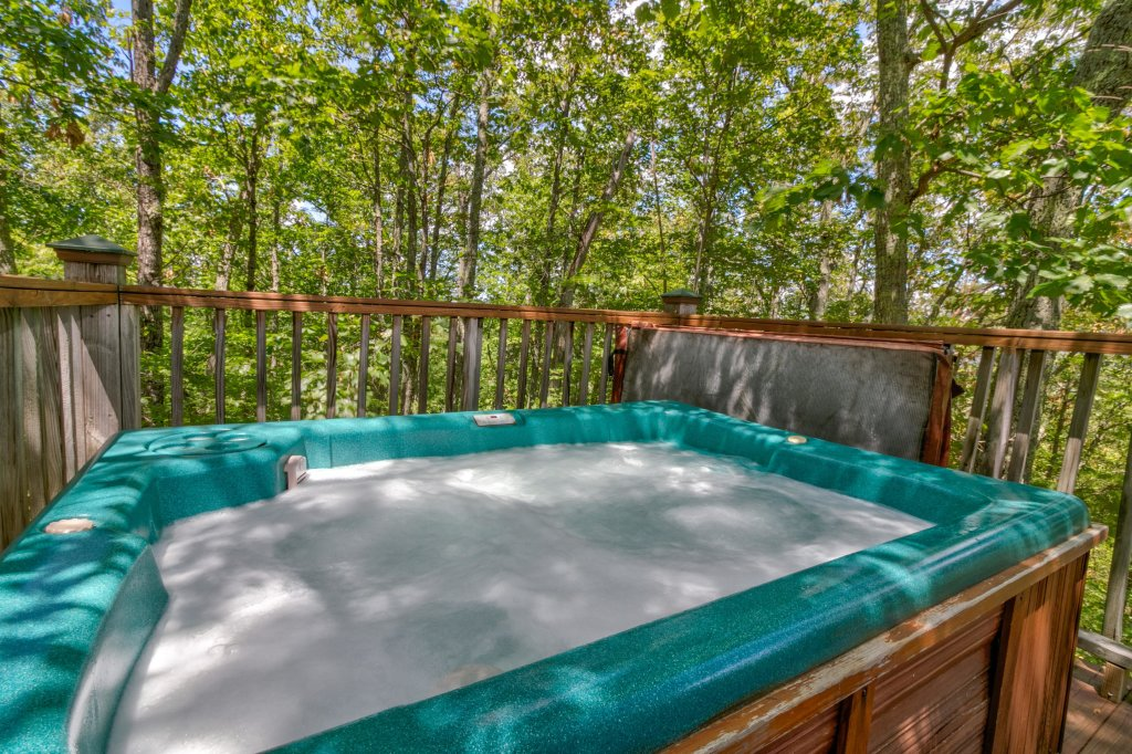 Photo of a Sevierville Cabin named Mockingbird's View Cabin - This is the twenty-third photo in the set.