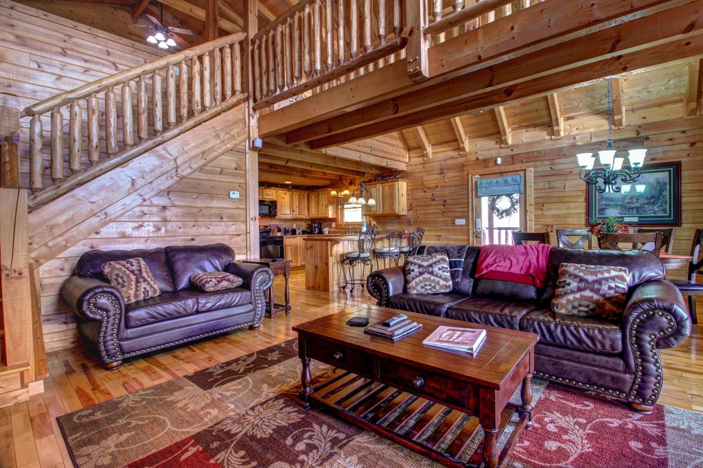 ... Photo Of A Pigeon Forge Cabin Named Touch Of Elegance Cabin   This Is  The Third ...