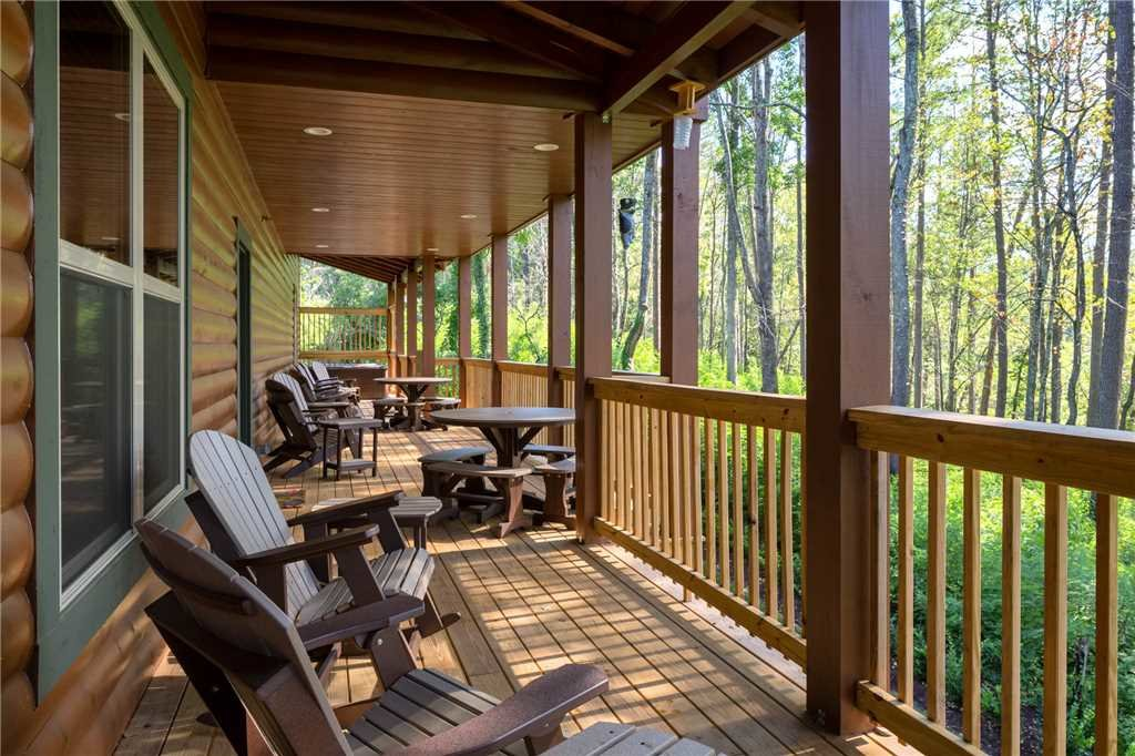 Photo of a Gatlinburg Cabin named The Grand Orchard Lodge - This is the third photo in the set.