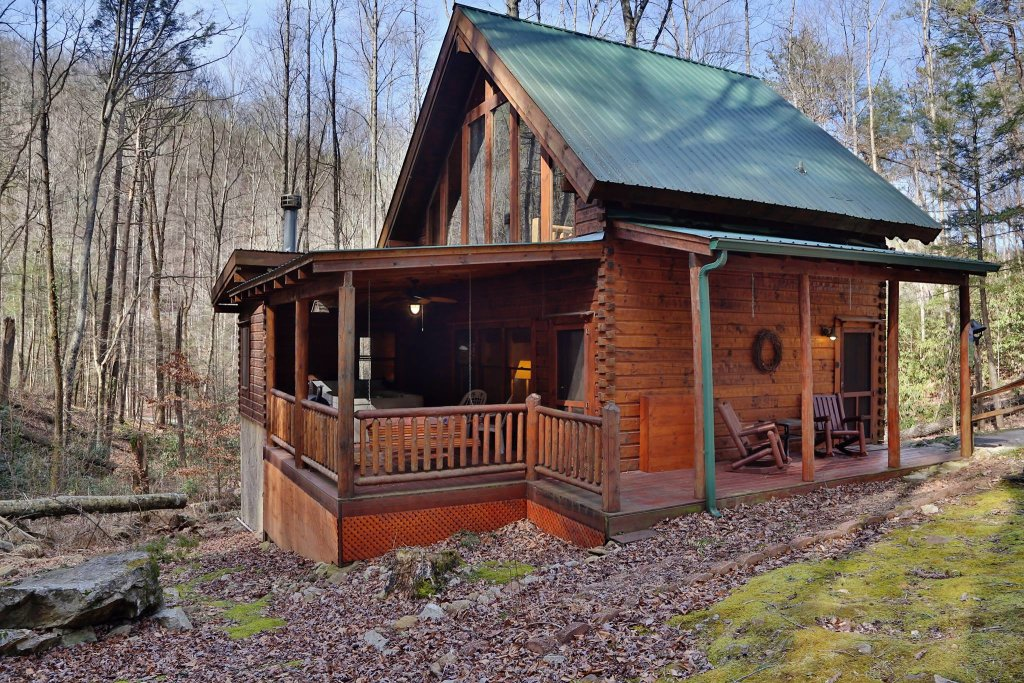 Photo of a Pigeon Forge Cabin named A Bit Of Heaven #252 - This is the twenty-fifth photo in the set.