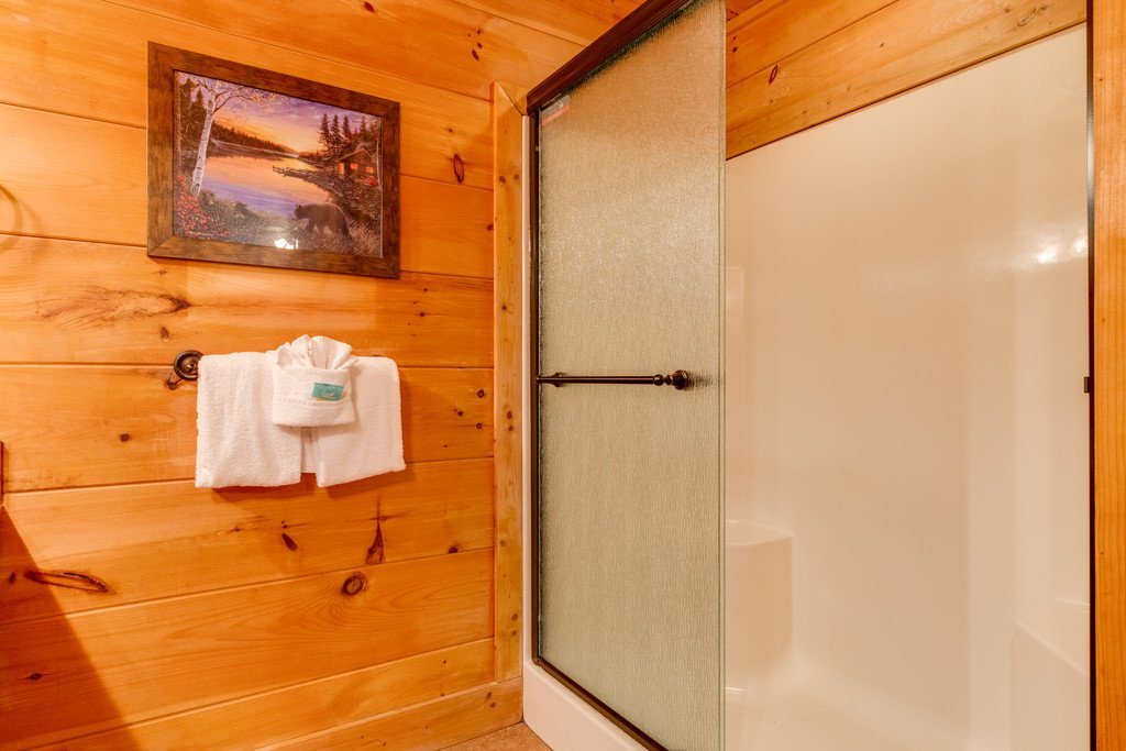 Photo of a Pigeon Forge Cabin named Bear Tracks - This is the thirty-seventh photo in the set.