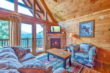 Fireside View, 2 Bedrooms, Hot Tub, Pool Access, Mtn Views, Sleeps 8