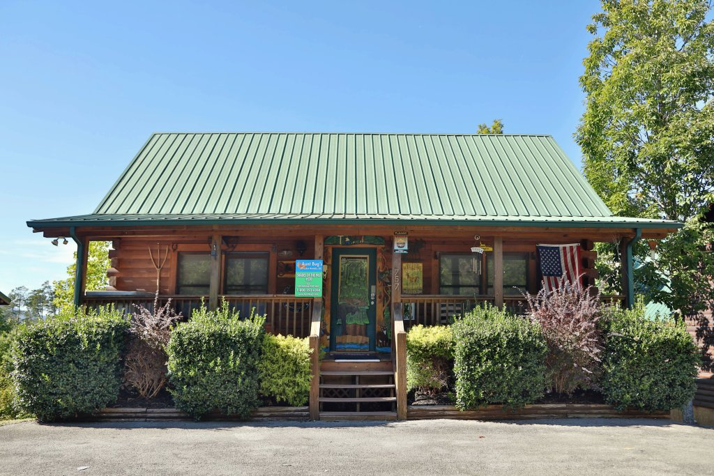 Photo of a Pigeon Forge Cabin named Shades Of The Past #230 - This is the second photo in the set.