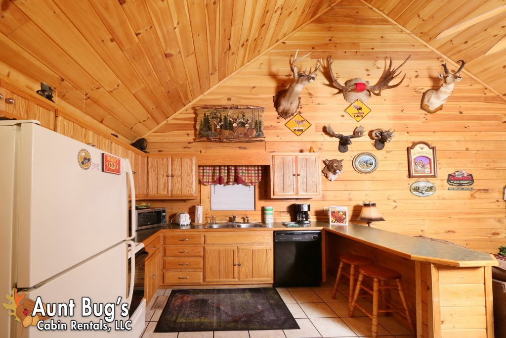 Photo of a Pigeon Forge Cabin named Shades Of The Past #230 - This is the fifth photo in the set.