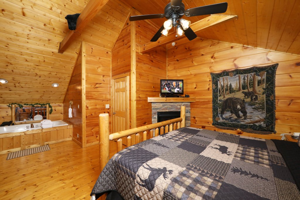 Photo of a Pigeon Forge Cabin named Black Bear Hibernation #2825 - This is the eighteenth photo in the set.