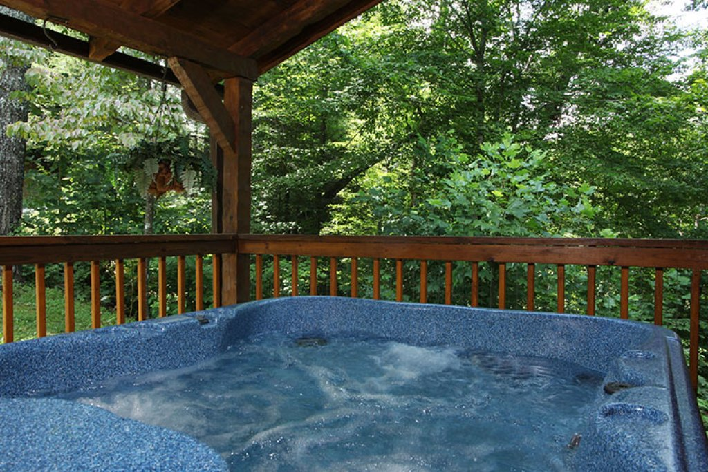 Photo of a Gatlinburg Cabin named Nature's Hideaway - This is the third photo in the set.