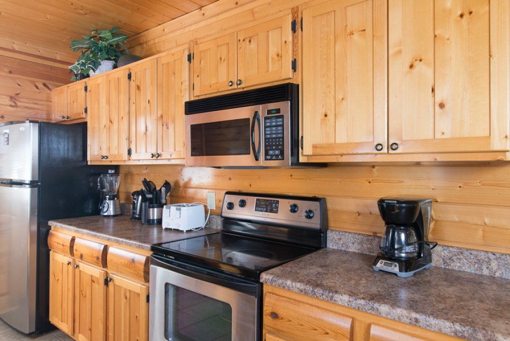Photo of a Pigeon Forge Cabin named Second Nature - This is the fifth photo in the set.