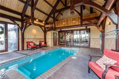Pool On Summit Point, 4 Br, Theater, Private Heated Indoor Pool, Sleeps 10