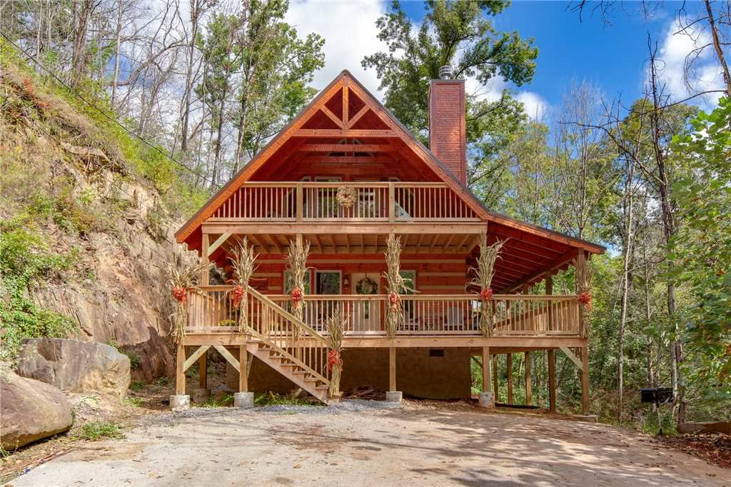 Photo of a Gatlinburg Cabin named Lovers' Hideaway - This is the twenty-fourth photo in the set.