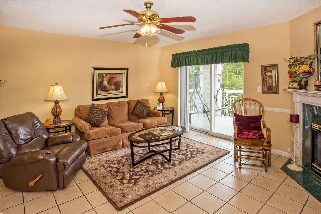 Photo of a Pigeon Forge Condo named Whispering Pines 101 - This is the third photo in the set.