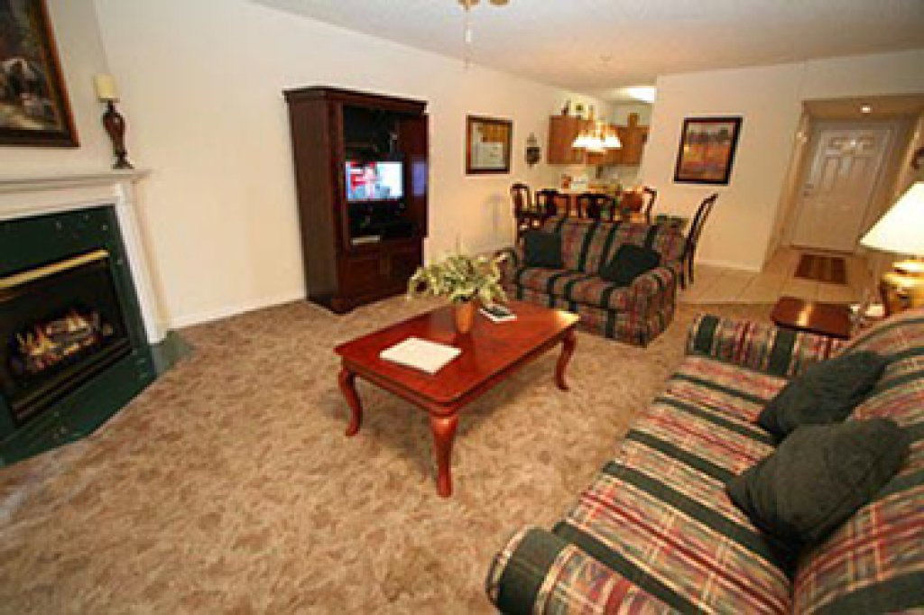 Photo of a Pigeon Forge Condo named Whispering Pines 513 - This is the third photo in the set.
