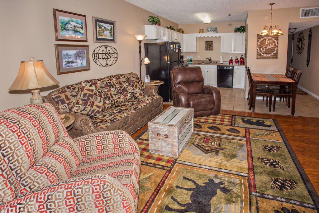 Photo of a Pigeon Forge Condo named Whispering Pines 211 - This is the seventh photo in the set.