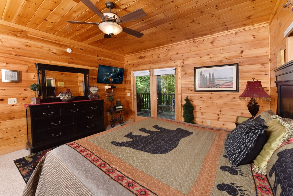 Photo of a Sevierville Cabin named Cedar Forest - This is the seventeenth photo in the set.