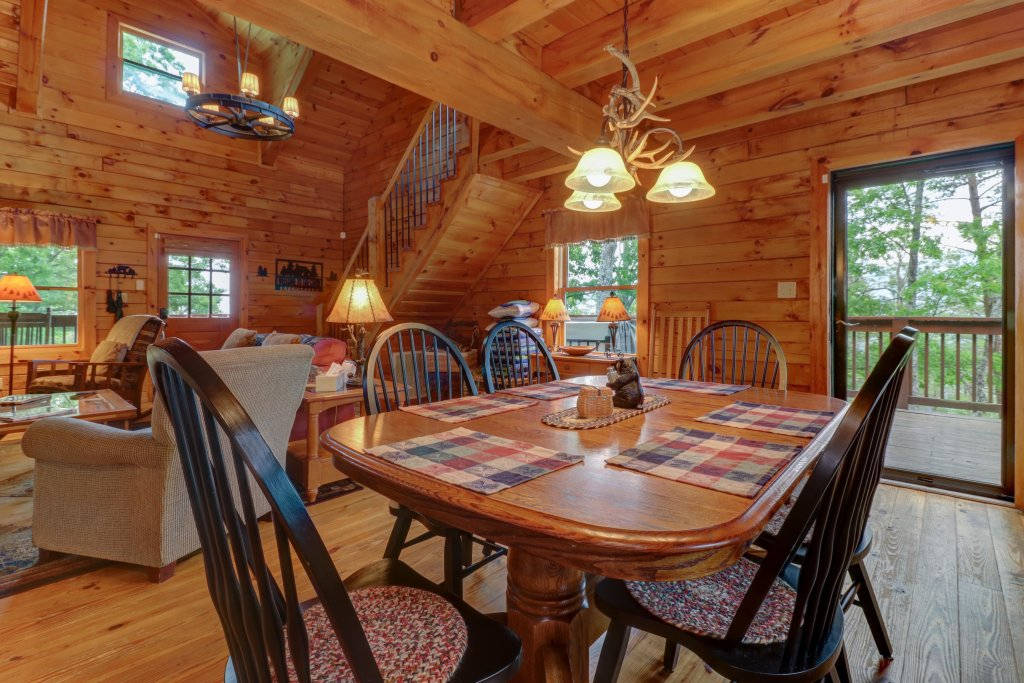 Photo of a Sevierville Cabin named Evergreen - This is the twenty-fifth photo in the set.