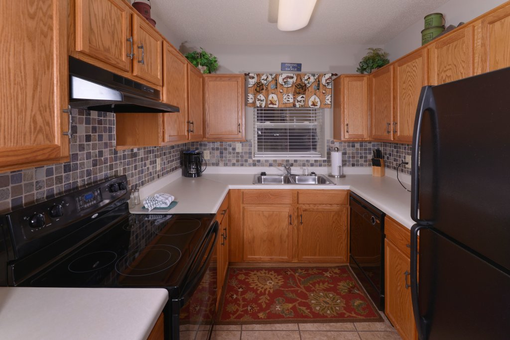 Photo of a Pigeon Forge Condo named Cedar Lodge 105 - This is the second photo in the set.