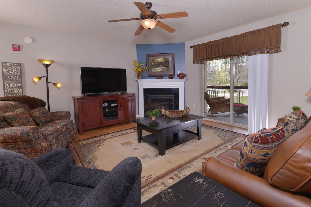Photo of a Pigeon Forge Condo named Cedar Lodge 105 - This is the fourth photo in the set.